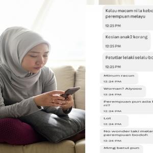 'Inilah Kebodohan Wanita Melayu' -  Penjual Online Dikecam Kurang Ajar, Rasis
