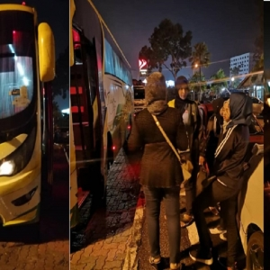 Pemandu Bas Tinggalkan 40 Penumpang Tepi Jalan Pukul 1.30 Pagi