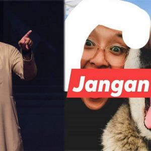 Nabila Huda Bergambar Dengan Anjing, 'Kot  Ya Lain Mazhab Toksah Up Gambar Macam Tu' - PU Syed