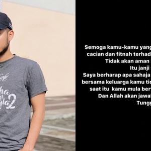 Syafie Naswip Bertegas Tidak Akan Maafkan 'Keluarga Belah Sana'