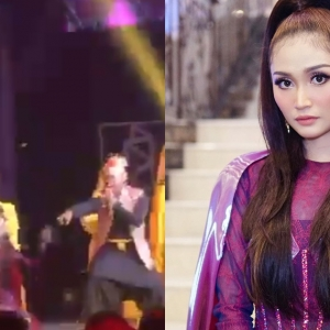 """""""Pandai Cover!""""- Ayda Jebat Jatuh Semasa Persembahan ASK 2019, Netizen Puji Profesional"""