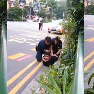 """Ayah, Tolong Abang Ayah!"" - Aliff Aziz Ditangkap Ganggu Ketenteraman Awam"