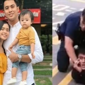 Aliff Aziz Sudah Bebas, Gembira Dapat Bersama Bekas Isteri & Anak