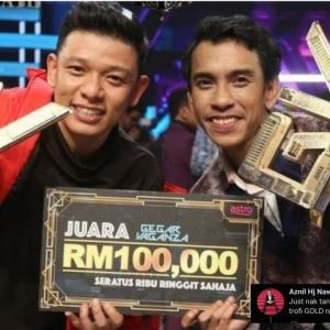 Memang Astro Dah Rancang Ke Sebab Ada 2 Trofi Juara GV6, Aznil Nawawi Pun Turut Bertanya!