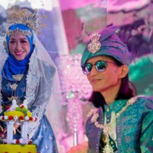 Sama Cantik Sama Padan, Sekitar Majlis Resepsi Perkahwinan Zamani & Isteri