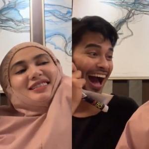 Video Mesra Aeril Zafrel Bersama Wawa Zainal Bikin Netizen Kencing Manis Lagi