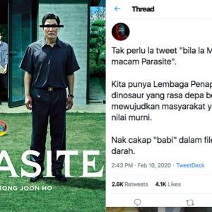 Takyah Berangan Filem Kita Macam Parasite Kalau Cakap 'Babi' Pun Kena Potong!