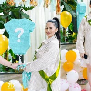 Cantik Tapi Lupa Pakai Seluar - Netizen Selar Cara Pemakaian Izara Aishah Di Majlis Baby Shower