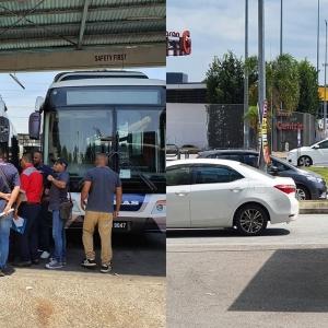 Pemandu Bas Cityliner Mogok, Sistem Pengangkutan Awam Seremban Lumpuh