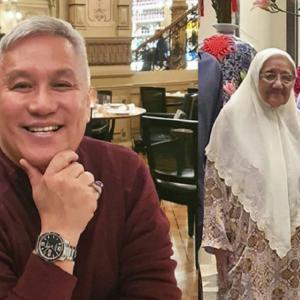 """Saya Takut Kehilangan Bau Itu"" - Video Chef Wan Sapu Krim Pada Ibu Undang Sebak"