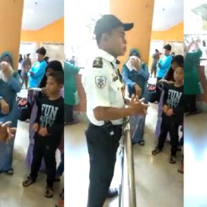 """""""Tolong Naikkan Pangkat Abang Ni"""" - Usaha Pak Guard Hospital Dapat Pujian KKM"""