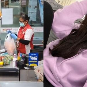 """""""Betty Rahmad Jadi Dinasour Shopping Di Pasar Raya, Terima Kasih Hiburkan Kami!"""""""