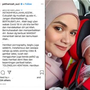 Yatt Hamzah Minta Selebriti Berhenti Tayang Gambar S*ksi