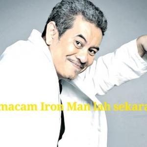 Dah Macam Iron Man, Penampilan Terbaru Usop Wilcha Raih Perhatian Netizen
