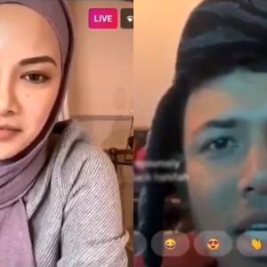 Nabil Buat IG Live Dengan Neelofa, Backup Kenyataan Black Untuk Dana Khas Buat Artis