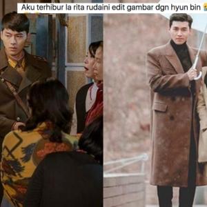 Edit Gambar Dengan Pelakon K-Drama, Rita Rudaini Menghiburkan Netizen