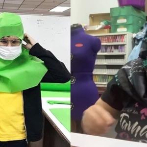 Tiada Duit, Atu Zero Dan Isteri Jahit PPE Bantu Petugas Kesihatan