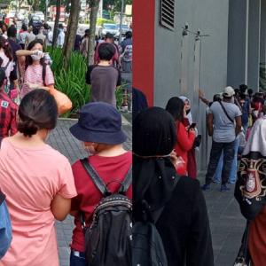 'Ni Baru StafJe' - Suasana Kenanga Wholesale City Hari Pertama PKPB