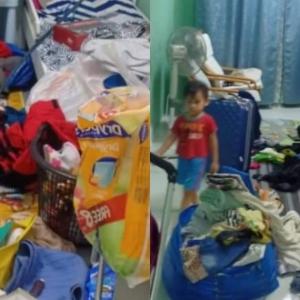 Dua Bulan Terkandas Di Kampung, Balik Rumah Kena Pecah Masuk