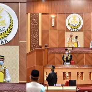 Sebak Kenang Jasa Frontliners, Sultan Nazrin Berdiri Tepuk Tangan Tanda Penghargaan