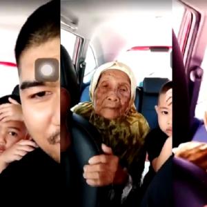 Netizen Sebak Dalam Tawa Dengan 'Pickup Line' Dua Beranak Ini