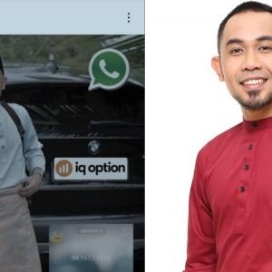 Patuh Syariah Konon, Hafiz Hamidun Bengang Scammer Forex 'Sebat' Gambar Raya