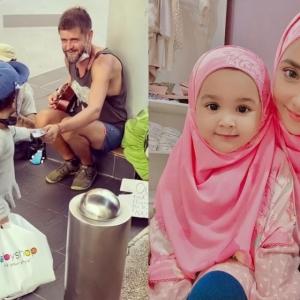 Lufya Omar Dikecam Bawa Anak Keluar Beli Keperluan, Baju Raya