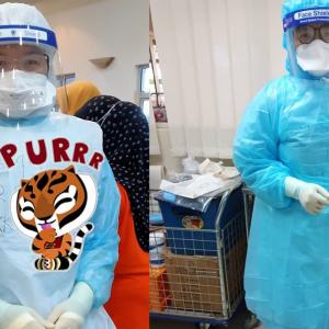 Anti-Vax Buat Hal Lagi! Tentang PKPB, Tuduh Pakai PPE Untuk Bergambar Je