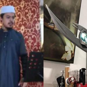 Amin Idris Minta Maaf, Padam Gambar Berkhutbah Pegang Tongkat Loki