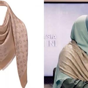 Siti Zailah Dikritik Lagi, Selendang Louis Vuitton Pula Jadi Sasaran