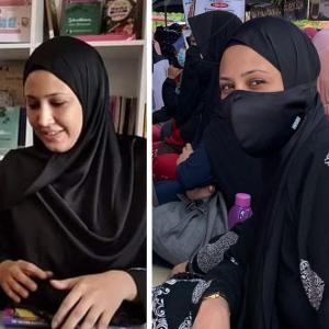 Fathia Latiff Menangis Bertemu Ustazah Asma Harun
