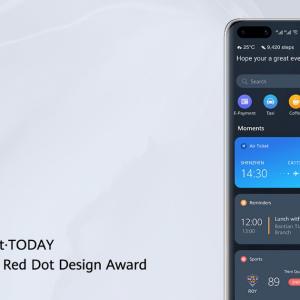 HUAWEI Assistant · TODAY Rangkul Anugerah Red Dot 2020