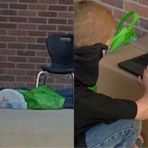 Tiada Akses Internet, Budak Lelaki Sanggup Ke Sekolah Setiap Hari Siapkan Kerja