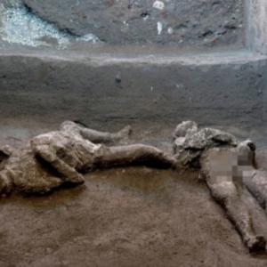 Dua Rangka Mangsa Letusan Gunung Berapi Di Pompeii 79 Masihi Ditemui