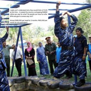 Dengan Covid-19 Meningkat, Rakyat Tengah Susah, Kenapa Nak Wujud PLKN Balik?