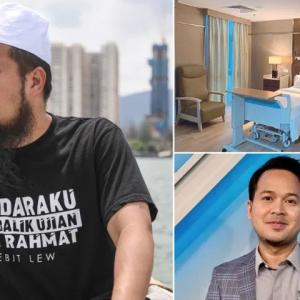 Fedtri Yahya Doakan Ustaz Ebit Miliki Hospital Sendiri Suatu Hari Nanti
