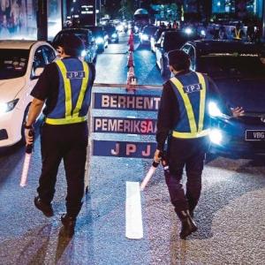 PKP: 1,200 Anggota JPJ Digerak Bantu Polis Mulai Hari Ini