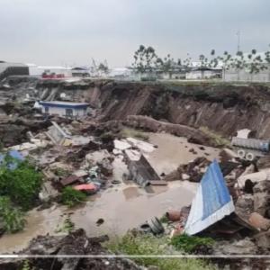 Tanah Mendap Dekat Tapak Lombong Kuala Selangor, Tiada Kemalangan Jiwa