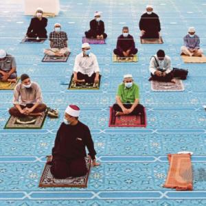 PKP: Kelantan Hadkan 12 Jemaah Solat Jumaat, Fardu