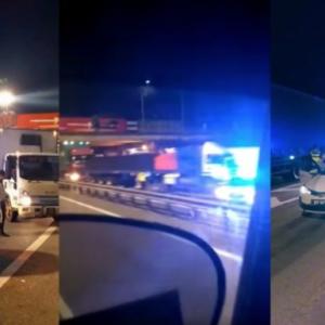 Macam Dalam GTA, Viral Geng Abang 'Truckers' Pakat Sekat Jalan, Bantu Polis Tahan Kereta Penjenayah