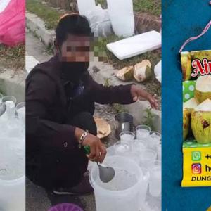 Pengusaha Asam Boi Buat Laporan Polis, Nafi Penjual Air Kelapa Rohingya Pekerja Mereka