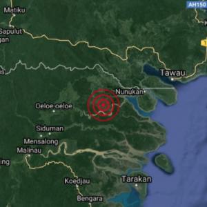 Gempa Bumi Landa Kalimantan Utara, Gegaran Turut Dirasai Di Tawau