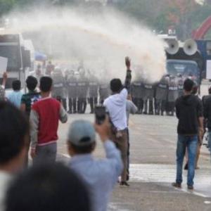 Berjuang Untuk Myanmar, Penggodam Antirampasan Kuasa Lancar Serangan