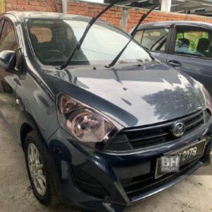 'Pelanggan' larikan kereta pandu uji jenis Perodua Axia