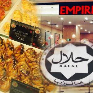 Empire Sushi Pula Tak Halal? Ini Penjelasan Pihak Pengurusan
