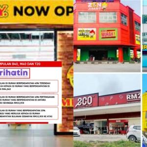 Kedai RM2 Makin Banyak Petanda M40 Makin Struggle, Lama-lama Jadi B40 Lah