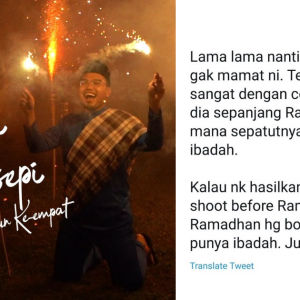 Tak Fokus Ibadah Puasa, Netizen Selar Khairul Aming Obses Buat Video Ramadan