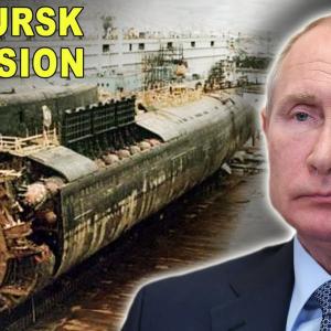 Tragedi kapal selam nuklear K-141 Kursk Rusia yang mengorbankan 118 Anak Kapal  di Laut Barent