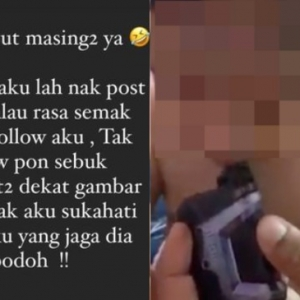 Selamba bagi anak kecil hisap vape sampai terbatuk-batuk, tindakan wanita ini cetus kemarahan netizen