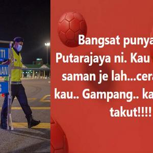 Nyaris Dikompaun RM10,000,  Wanita Bengang Maki Polis Di Media Sosial